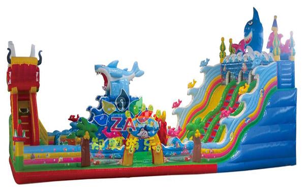 龙鲨儿童manbetx万博官网手机版城堡大滑梯
