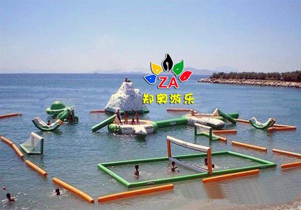 水上组合趣味玩具