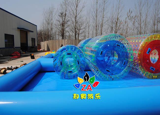 水上滚筒水上乐园玩具