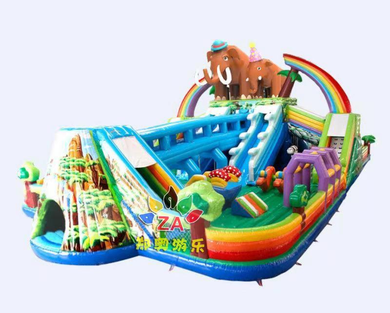 猛犸象乐园manbetx万博官网手机版城堡大滑梯